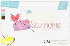 Enviado com personalização de nome em 10 cores diferentes sem fundo para aplicação em fotografias como marca d´agua.