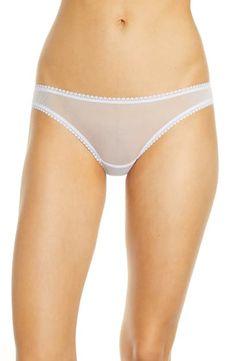 OnGossamer Womens Plus-Size Gossamer Mesh Plus Boyshort Panty