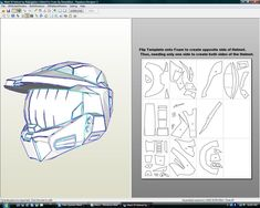 Hi guys ive started work editing Halo mark VI files for use with foam original files were made by Robogenisis and and ive re-unfolded them and. Halo Cosplay, Cosplay Armor, Cosplay Diy, Halo Spartan Armor, Halo Armor, Master Chief Armor, Halo Master Chief, Casco Halo, Batman Mask Template