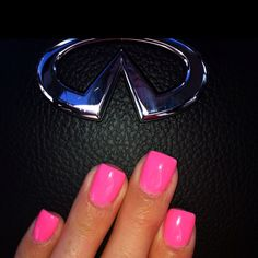 My Barbie Pink Nails. (: