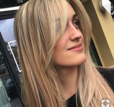 Trendy Hairstyles Fringe Blonde 26 Ideas - New Site Long Hair With Bangs, Haircuts With Bangs, Girl Haircuts, Short Bangs, Short Haircut, Long Bangs Layers, Brown Hair With Fringe, Haircut Bangs, Long Side Bangs