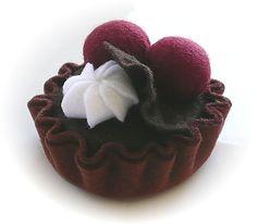 my felt friends : Lovely tarts
