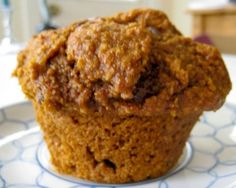 This is truly a wonderful recipe for the best bran muffins. If you like raisin bran muffins then you are in for a treat. These healthy muffins are good. Pear Muffins, Healthy Muffins, Vegan Carrot Cakes, Vegan Cake, Vegan Cupcakes, Muffin Recipes, Baking Recipes, Vegan Recipes, Breakfast Recipes