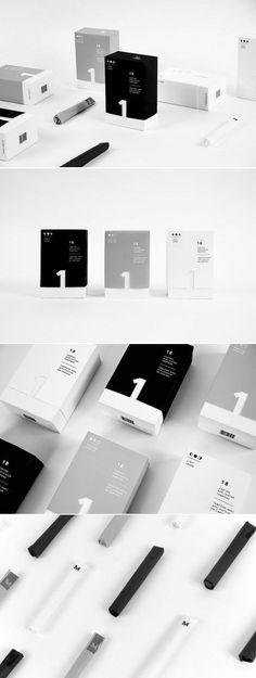 minimalist branding and packaging design in black and white. sleek and modern ty… minimalist branding and packaging design in black and white. sleek and modern typography and shapes, clean and modern graphic design. Design Food, Pop Design, Label Design, Branding Design, Package Design, Identity Branding, Corporate Design, Visual Identity, Cover Design