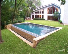 Formal / Geometric Pool #118 by Southernwind Pools