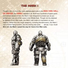 Iron Man's Hall of Armor: Mark I