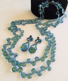 Dazzling Vintage Miriam Haskell Necklace & by TyTimelessSparkles
