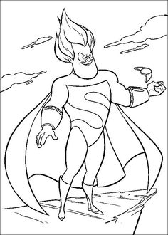 25 Best Coloring Pages (The Incredibles) images in 2016