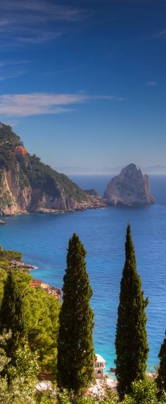 //Capri ~ Island of Naples, Italy #travel #places #photography