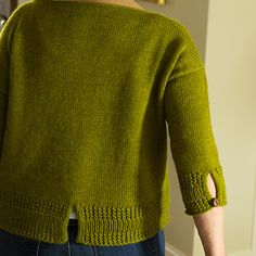 Chilam pattern by Bonnie Dean knitted using The Fibre Co. 3 Needle Bind Off, Sweater Knitting Patterns, Knitting Ideas, Fit 30, Cowl Scarf, Needles Sizes, Crochet, Pullover, Stitch