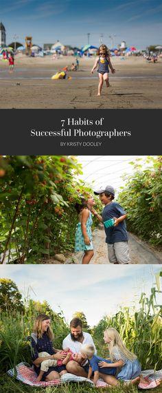 7 habits of successful photographers
