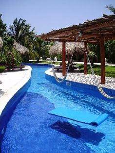 I need a lazy river in any future home i possess. Complete with hammocks.