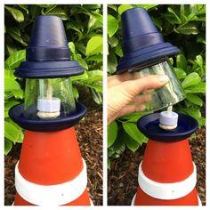 Garten-DIY: Zum Sommerbeginn bauen wir einen Leuchtturm › Einer schreit immer