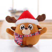 Natal Da Rena de pelúcia bonecas, Decorações de natal veados plushfor bicho de pelúcia brinquedos macios do bebê presentes de Natal frete grátis