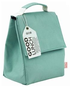 Cool, simple lunch bag.