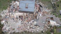 14112016 News Photo: Iain McGregor/FairfaxNZ Major earthquake in Canterbury. The Elms homestead near Kaikoura. Earthquake Damage, Earthquake And Tsunami, South Pacific, Pacific Ocean, New Zealand Earthquake, State Of Arizona, Destruction, Homesteading