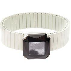 Isabel Marant Stone Bracelet (380 CNY) ❤ liked on Polyvore featuring jewelry, bracelets, isabel marant, tribal jewellery, isabel marant jewelry, stone bangles and stone jewellery