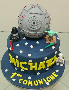 My lego Star Wars cake _ La mia torta lego guerre stellari www.facebook.com/archicaketure