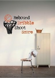 Amazing Basketball Boys Bedroom Wallpaper