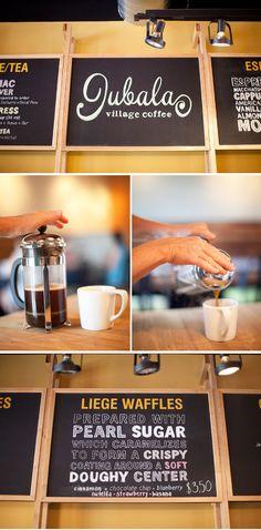 Jubala Village Coffee - Raleigh - Best coffee shop with the best Belgian waffles.