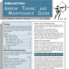 Paper tuning chart Easton Arrow Tuning Guide - Easton Archery