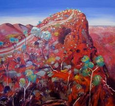 Manyung Gallery Group Carole  Foster Sillers Lookout Arkaroola Australian Painters, Australian Artists, Silk Painting, Painting & Drawing, Abstract Landscape, Landscape Paintings, Indigenous Art, Aboriginal Art, Affordable Art