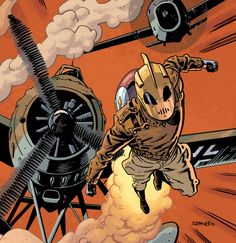 The Rocketeer by Chris Samnee