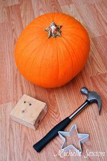 pumpkin carving supplies