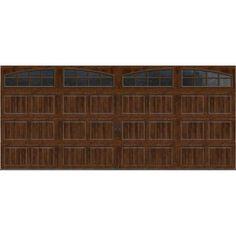 Wayne dalton semi custom steel carriage house door model for Archway garage doors simi valley