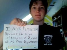 the reflection of feminism in women firefighters in kansas Martofel admitted in a facebook post that his inspiration for feminist apparel was his own history of sexually abusing women  my ongoing reflection and conversations regarding them have.