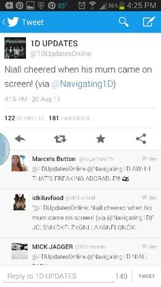 All I can say us AWWWWWW!!!! I LIVE THAT BOY!!!!!! @Niall Horan  that is to cute!!!!