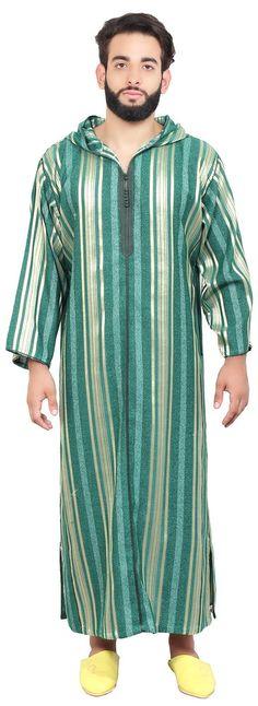 Jellaba Moroccan Men Caftan Dishdasha Thobe Gelaba Islamic Galabia Kameez Kaftan | eBay