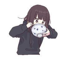 Menhera-chan.Animation 3 EN Dibujos Anime Chibi, Cute Anime Chibi, Cute Anime Pics, Anime Girl Cute, Anime Neko, Kawaii Anime Girl, Anime Art Girl, Manga Anime, Emoji