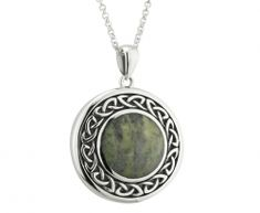 Buy Connemara Marble Pendant on your Irish Jewelry eshop Irish Jewelry, Connemara, Celtic, Marble, Pendants, Pendant Necklace, Jewels, Gemstones, Sterling Silver