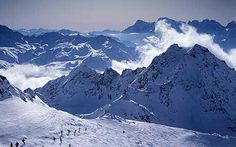 I love the mountains and to ski.  I live not far from Verbier in the Swiss Alps.