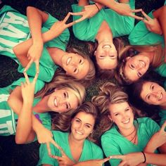 Cool photo idea for ADPi -- or replace with another hand gesture