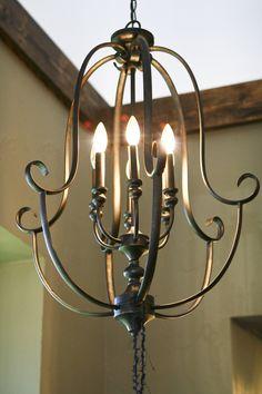 Decorative Wrought Iron Lighting
