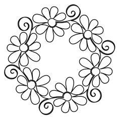 Gerber Daisy Block - Digital - Quilts Complete - Continuous Line Quilting… Hungarian Embroidery, Brazilian Embroidery, Paper Embroidery, Hand Embroidery Patterns, Embroidery Stitches, Quilt Patterns, Embroidery Designs, Folk Embroidery, Japanese Embroidery