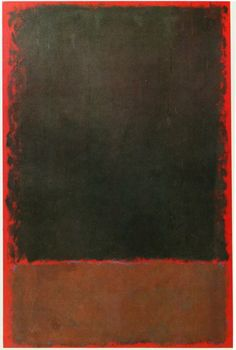 Daily Rothko: 1959 Tachisme, Rothko Art, Mark Rothko, Abstract Painters, Abstract Art, Barnett Newman, Willem De Kooning, Colour Field, Painting & Drawing