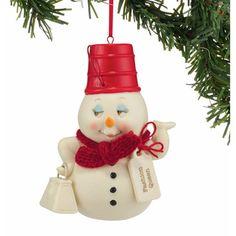 Department 56 Snowpinions Fashion Statement Ornament #4045179