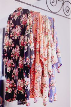 Love these Floral Robes for bridal portraits, day of the wedding, maternity and more | $22.99 on Jane #GiftIdea