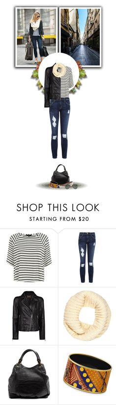 """""""808"""" by melanie1123 ❤ liked on Polyvore featuring Current/Elliott, MANGO, River Island, Marc by Marc Jacobs, Hermès, J.Crew and Ray-Ban"""