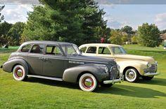 1940 Buick & 1940 Oldsmobile