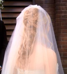 Bernadette's hair for her wedding in The Big Bang theory