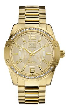 The Sonic - E17510G1 The Sonic, Gold Watch, Watches, Spring, Accessories, Collection, Black, Wristwatches, Black People