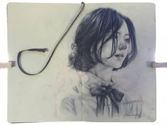 Graphite and Moleskine Project By Thomas Hanandry via Kreavi.