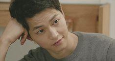 "musicthatismyboo: "" ""Song Joong Ki casually slaying hearts in Descendants of the Sun "" """