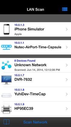LAN Scan - Network Device Scanner by Nutec Apps LLC gone Free