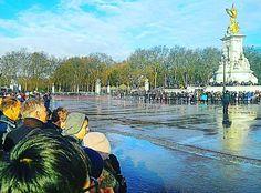 근위병 교대식 기다리는중 내옆에 우연히 서있는 대만남자애가 우산이커서 비안맞고 무상테라스 제공받는중ㅋㅋㅋ  #근위병교대식 #런던 #경산 #영대 #영남대 #이제부터대만사랑 by angel.ljw