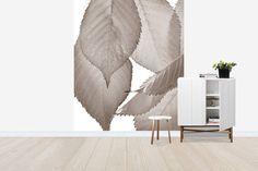 Hanging Autumn Leaves - Sepia - Decoration Murale & Papier Peint Photo - Photowall